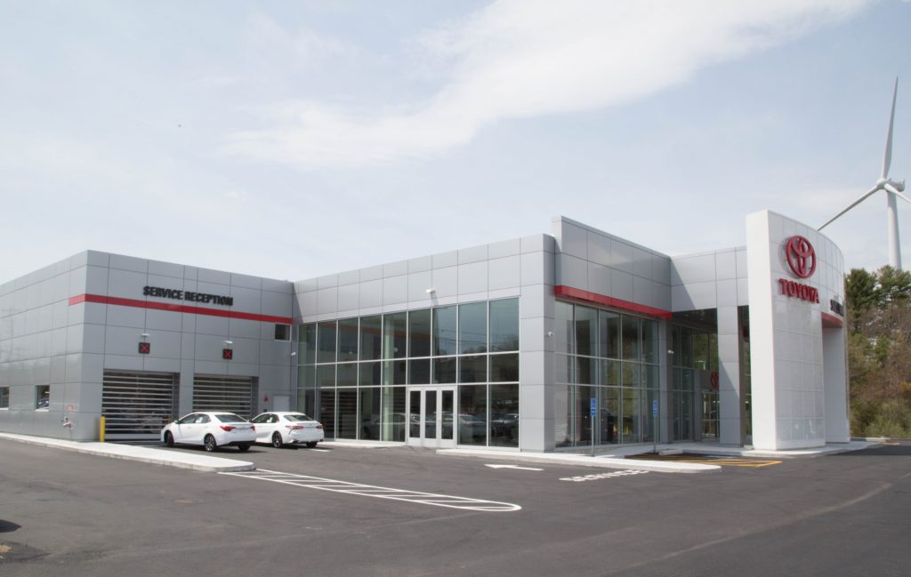 Polar Design Build Completes 40 000 S F Sullivan Toyota In Kingston Ma